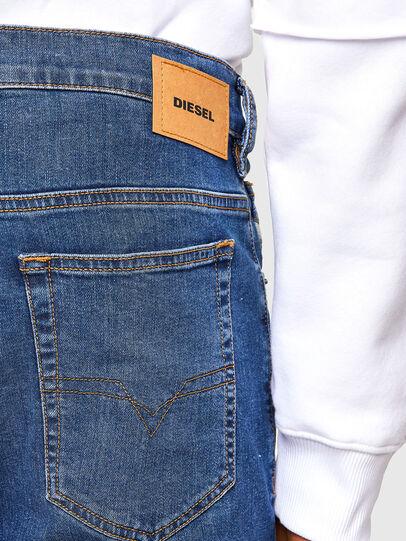 Diesel - D-Yennox Tapered Jeans 009DG, Medium Blue - Jeans - Image 4