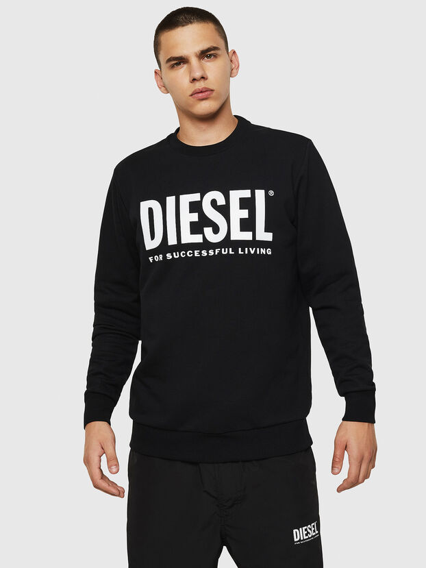 S-GIR-DIVISION-LOGO, Black - Sweatshirts