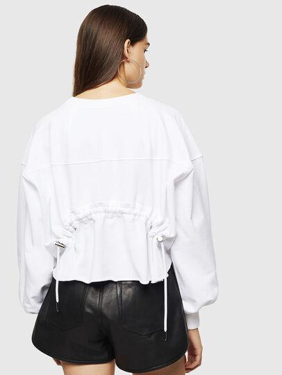 Diesel - F-MONDY, White - Sweatshirts - Image 2