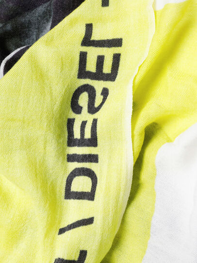 Diesel - SRIGHT, White/Yellow - Scarves - Image 3