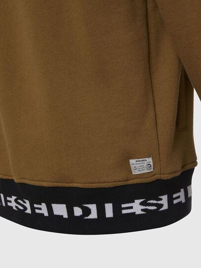 Diesel - UMLT-BRANDON, Light Brown - Sweatshirts - Image 4