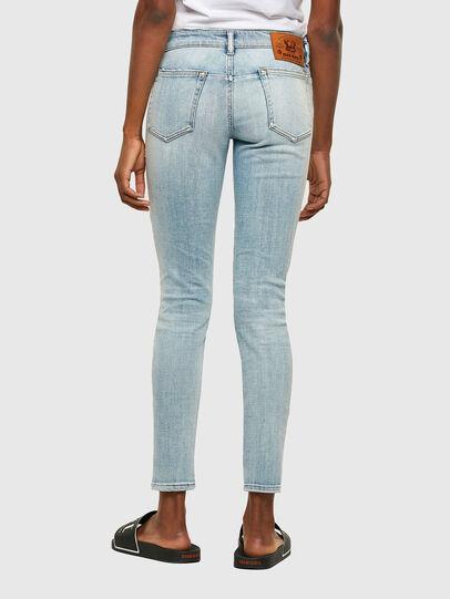 Diesel - D-Jevel Slim Jeans 009PQ, Light Blue - Jeans - Image 2