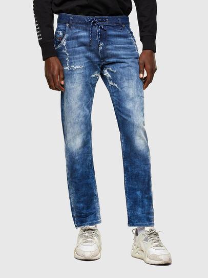 Diesel - Krooley JoggJeans® 009RU, Dark Blue - Jeans - Image 1