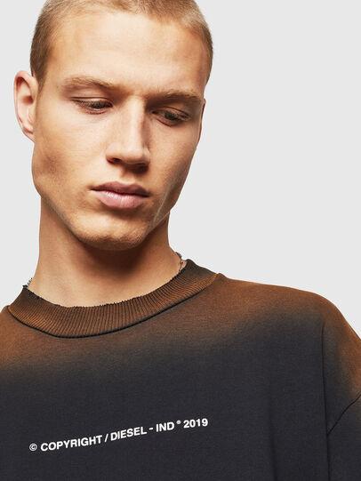 Diesel - S-BAY-SUN, Black - Sweatshirts - Image 3