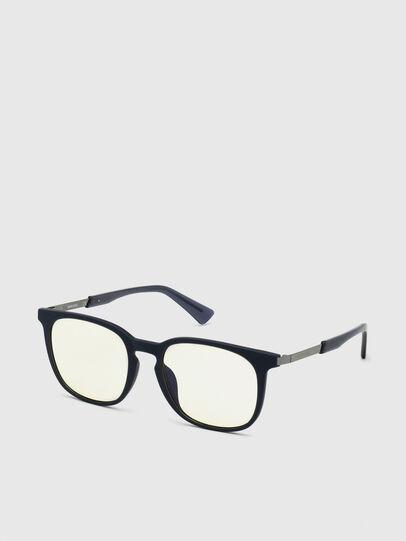 Diesel - DL0311, Dark Blue - Sunglasses - Image 2