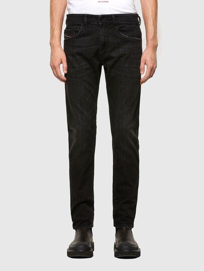 Diesel - Thommer Slim Jeans 069PW, Black/Dark Grey - Jeans - Image 1
