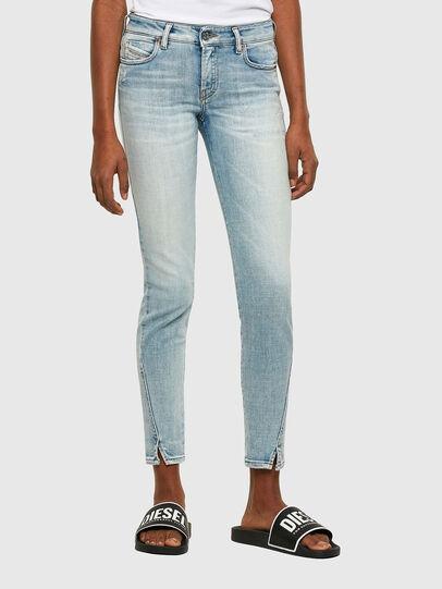Diesel - D-Jevel Slim Jeans 009PQ, Light Blue - Jeans - Image 1