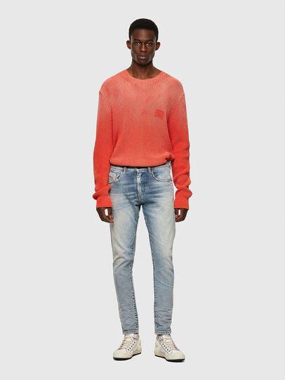 Diesel - D-Strukt Slim Jeans 09A04, Light Blue - Jeans - Image 5