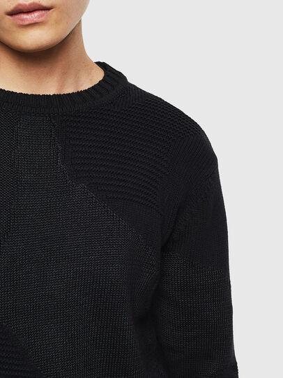 Diesel - K-CAMMY, Black - Sweaters - Image 5