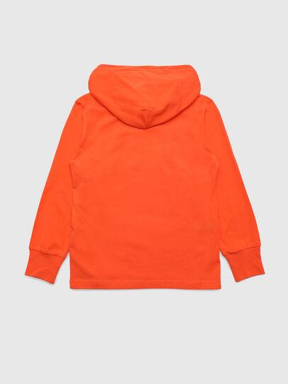 Diesel - TDIEGOHOODS3 ML, Orange - T-shirts and Tops - Image 2