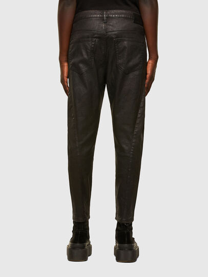 Diesel - Fayza JoggJeans 069PG, Black/Orange - Jeans - Image 2
