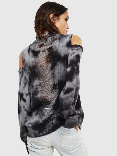 Diesel - M-BOBBY, Black/White - Sweaters - Image 2