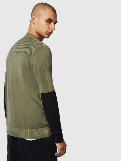 Diesel - K-PACHY, Military Green - Sweaters - Image 2