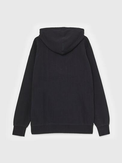 Diesel - S-GIR-HOOD-P, Black - Sweatshirts - Image 2