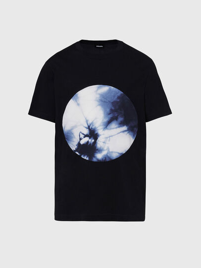 Diesel - T-MOONY-X2, Black - T-Shirts - Image 1