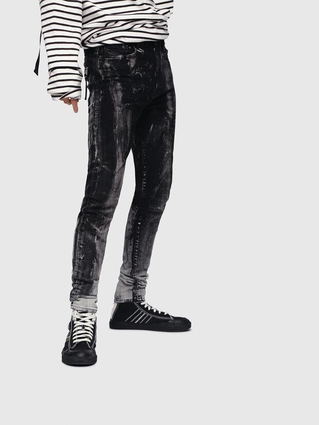 D-Amny 089AF, Black/Dark Grey - Jeans