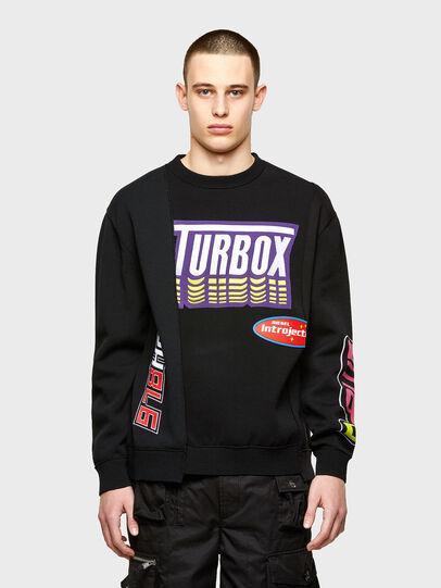 Diesel - K-JARGON, Black - Sweaters - Image 1