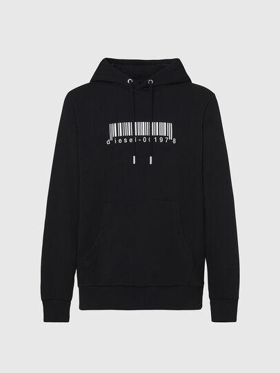 Diesel - S-GIRK-HOOD-X2, Black - Sweatshirts - Image 1