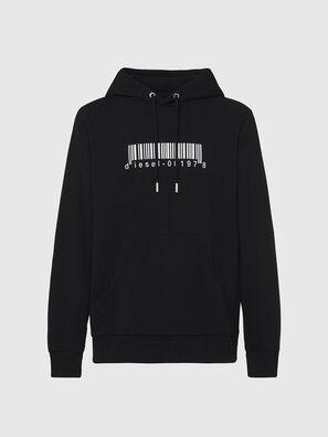 S-GIRK-HOOD-X2, Black - Sweatshirts