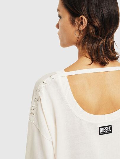 Diesel - M-PERLA-A, White - Sweaters - Image 7