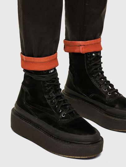 Diesel - Fayza JoggJeans 069PG, Black/Orange - Jeans - Image 5