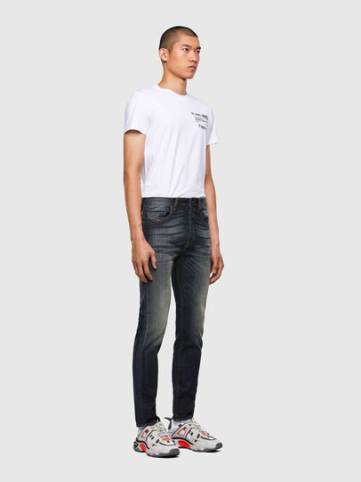Diesel - Buster Tapered Jeans 009EP, Dark Blue - Jeans - Image 5