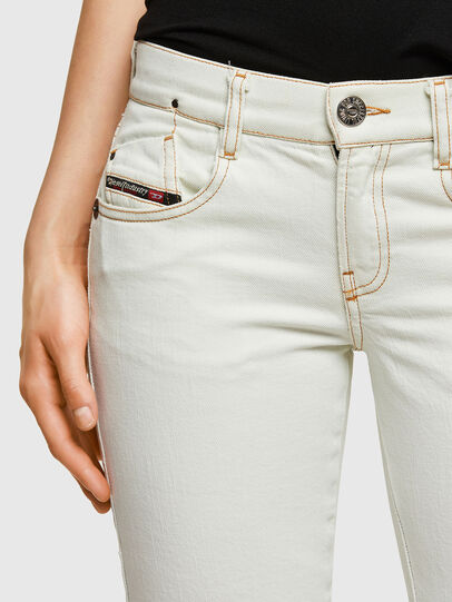 Diesel - D-Ebbey Bootcut Jeans 009ZA, White - Jeans - Image 4
