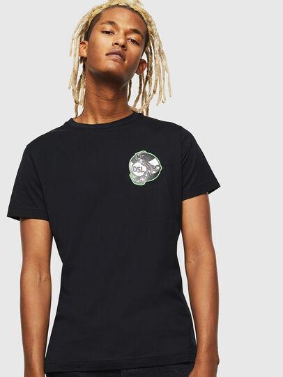 Diesel - T-DIEGO-J10, Black - T-Shirts - Image 1