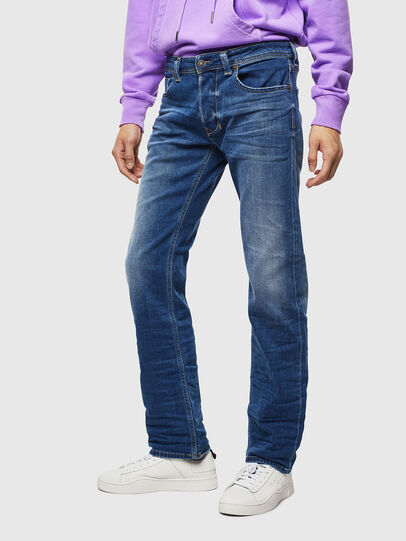 Diesel - Larkee 0097X, Medium Blue - Jeans - Image 1