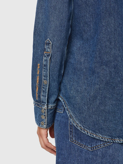 Diesel - DE-RINGY, Azul Oscuro - Camisas de Denim - Image 4