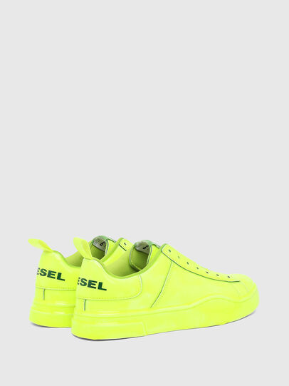 Diesel - S-CLEVER SO W, Yellow - Sneakers - Image 3