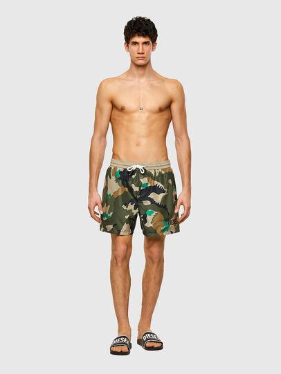 Diesel - BMBX-WAVE 2.017, Military Green - Swim shorts - Image 1