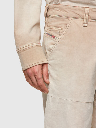 Diesel - D-Azerr Straight JoggJeans® 069WG, White - Jeans - Image 5