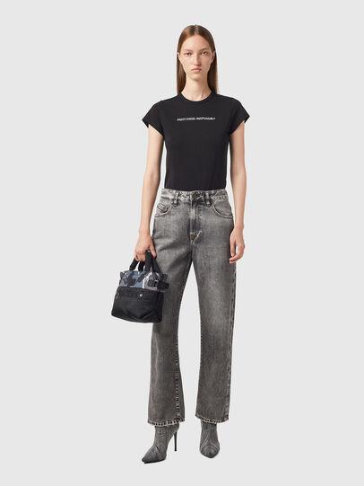 Diesel - D-Reggy Straight Jeans 09B13, Black/Dark grey - Jeans - Image 4