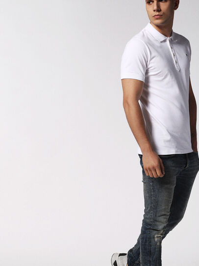 Diesel - T-HEAL, White - Polos - Image 4