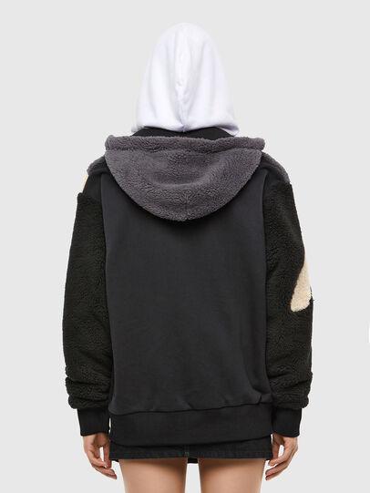 Diesel - S-ALDY, White/Black - Sweatshirts - Image 4