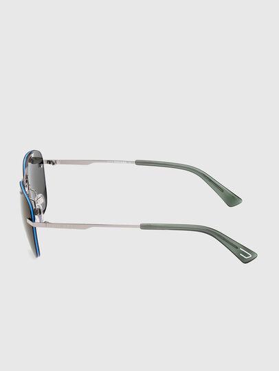 Diesel - DL0350, Grey/Blue - Sunglasses - Image 3