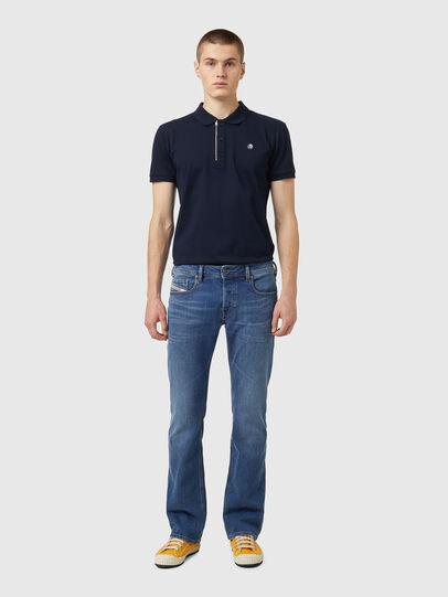 Diesel - Zatiny Bootcut Jeans 09A80, Medium Blue - Jeans - Image 5