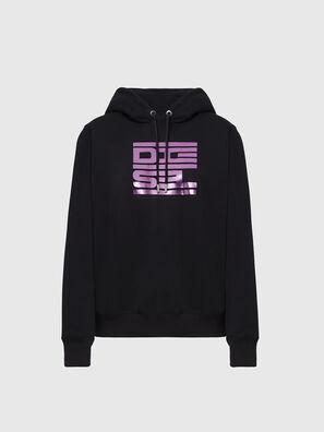 F-ANG-HOOD-K23, Black - Sweatshirts