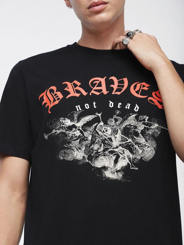 T-JUST-XI, Black - T-Shirts
