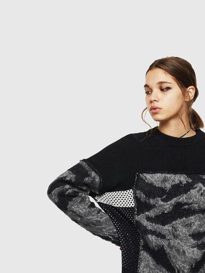 Diesel - M-POST, Black - Sweaters - Image 3