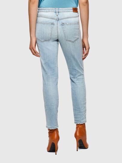 Diesel - BabhilaSlim Jeans 009ZZ, Light Blue - Jeans - Image 2