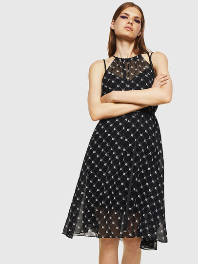 Diesel - D-YING, Black - Dresses - Image 4