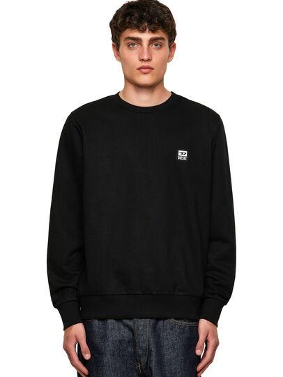 Diesel - S-GIRK-K12, Black - Sweatshirts - Image 1