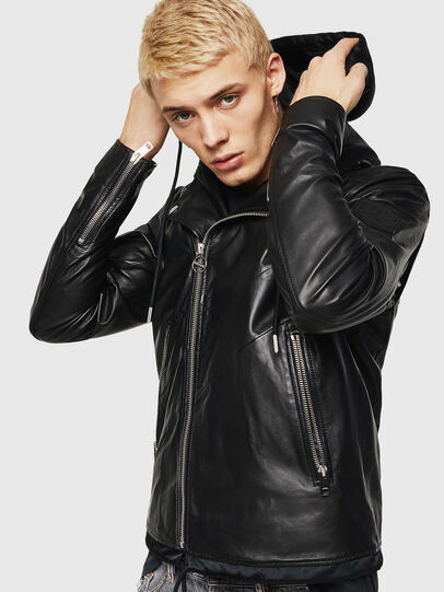 Diesel - L-SOLOVE,  - Leather jackets - Image 4