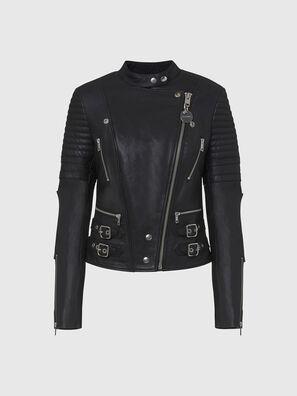 L-IGE-NEW, Black - Leather jackets