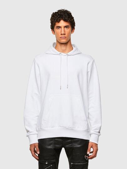 Diesel - S-GIRPO-HOOD, White - Sweatshirts - Image 1