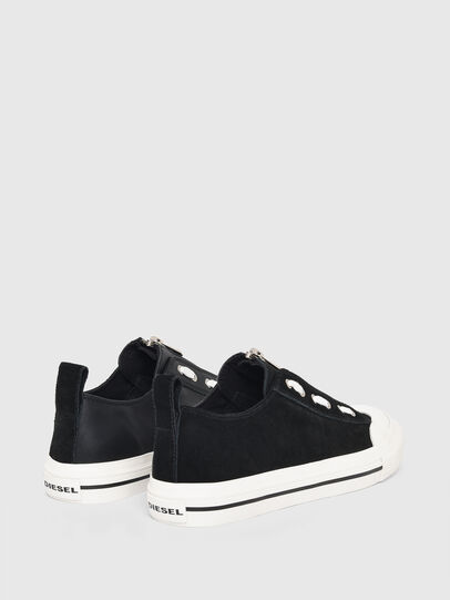 Diesel - S-ASTICO LZIP W, Black - Sneakers - Image 3