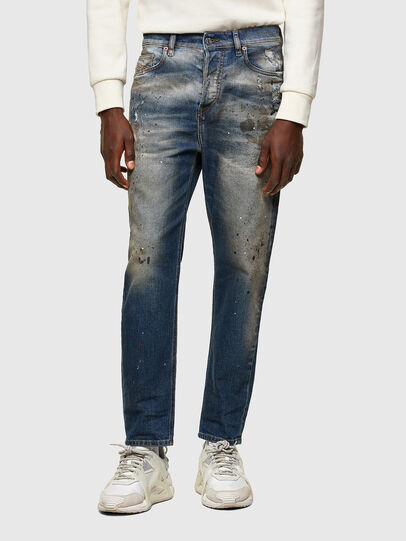 Diesel - D-Vider Carrot Jeans 009NH, Medium Blue - Jeans - Image 1