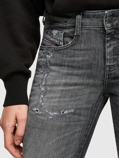 Diesel - D-Ollies Slim JoggJeans® 009QT, Black/Dark Grey - Jeans - Image 3